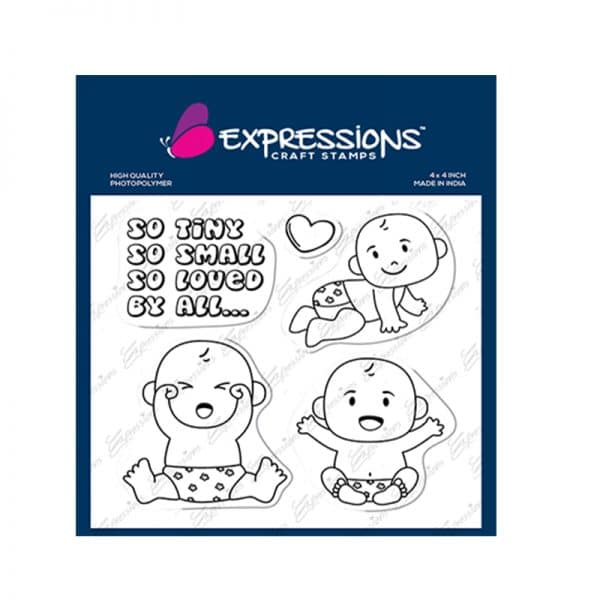 baby craft stamps