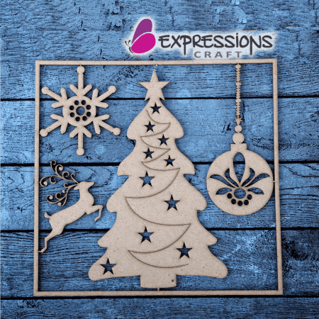 Christmas Chipboard cutouts
