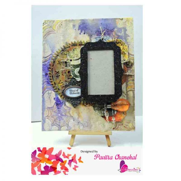 Mixed Media Photo Canvas