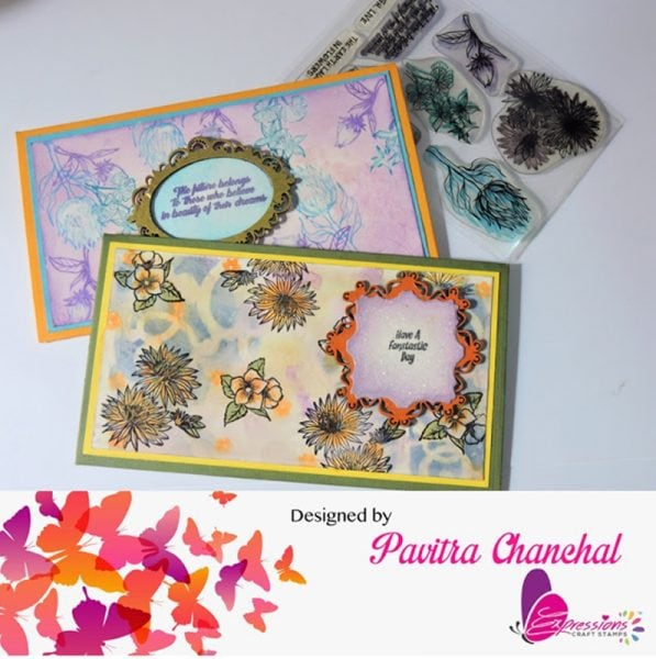 Envelopes using chipboard embellishments