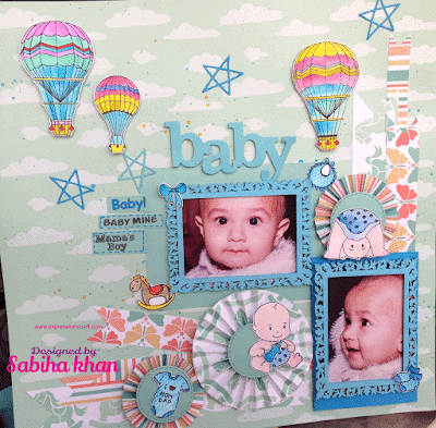 Layout for a Baby Boy