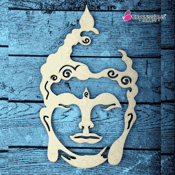 Buddha chipboard embellishments