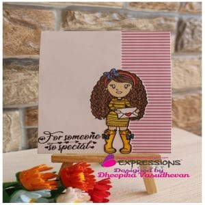 Expressions craft clear stamps