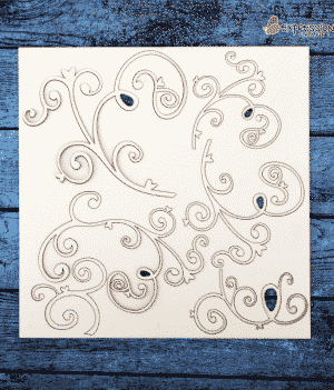 Buy Online Decorative Chipboard Embellishment in India