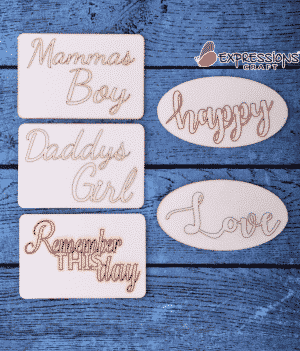 Buy Chipboard decorative Embellishment in Online