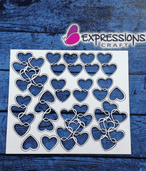 Heart Elements chipboard embellishments online