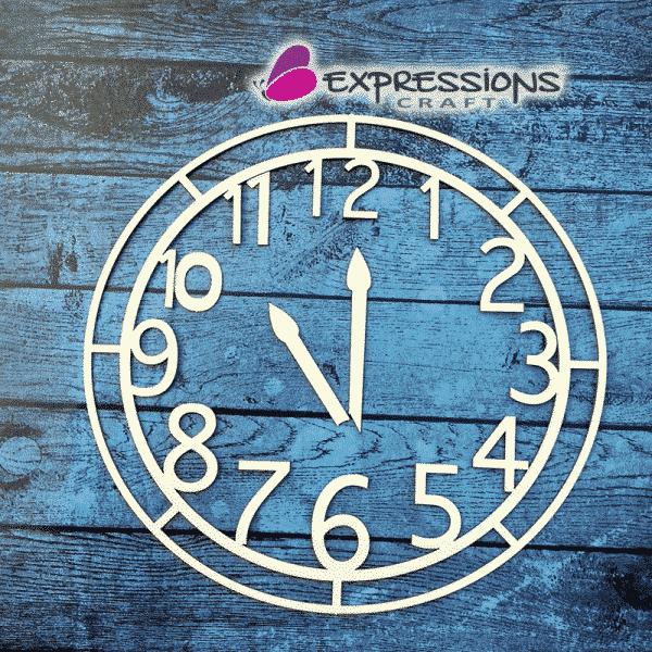 clock chipboard cutouts online in India