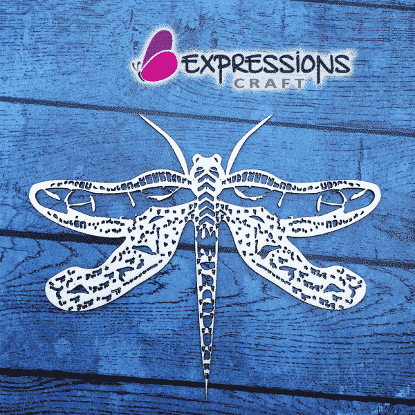 Dragonfly chipboard cutouts
