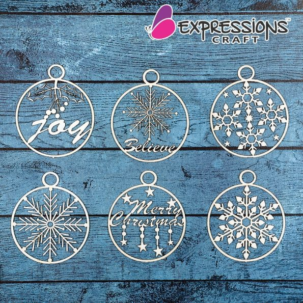 Christmas ornaments embellishments