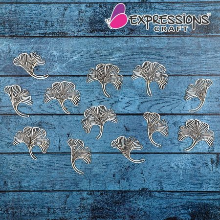 ginkgo chipboard embellishments