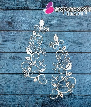 chipboard motif for crafts