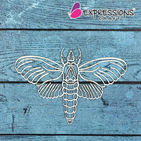 butterfly chipboard embellishments