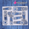 GEAR CHAIN CHIPBOARD