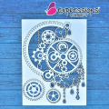 steampunk chipboard