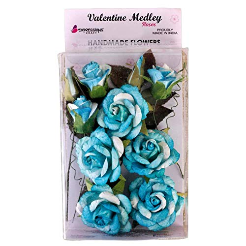 two tone rose blue